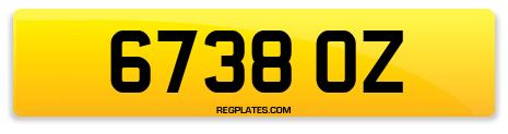 Registration 6738 OZ