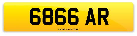 Registration 6866 AR