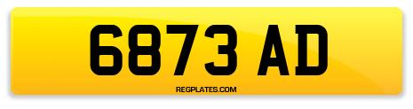 Registration 6873 AD