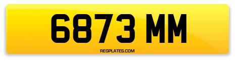 Registration 6873 MM