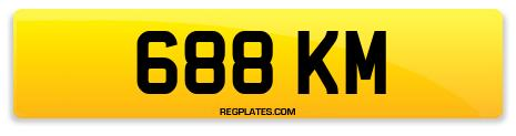 Registration 688 KM
