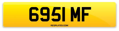 Registration 6951 MF