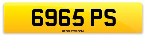 Registration 6965 PS