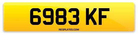 Registration 6983 KF