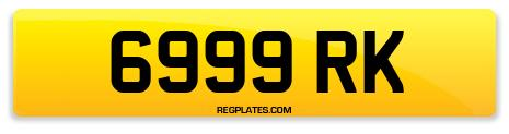 Registration 6999 RK