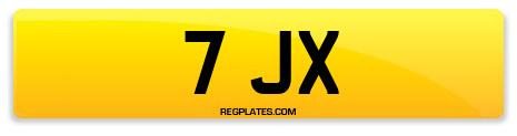 Registration 7 JX