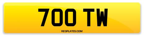 Registration 700 TW