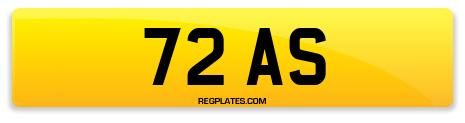 Registration 72 AS