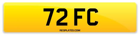 Registration 72 FC