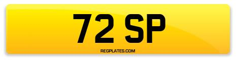 Registration 72 SP