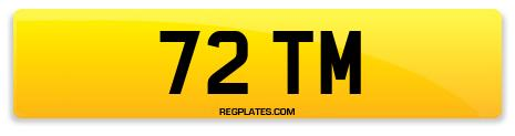 Registration 72 TM