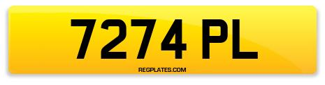 Registration 7274 PL
