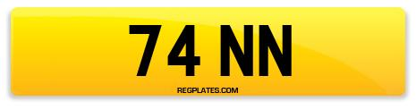 Registration 74 NN