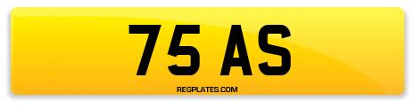 Registration 75 AS