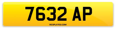 Registration 7632 AP