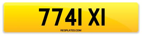 Registration 7741 XI