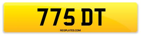 Registration 775 DT
