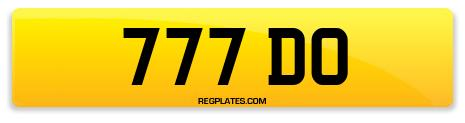 Registration 777 DO