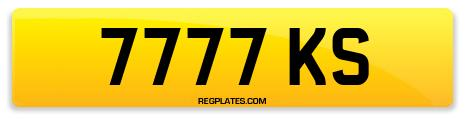 Registration 7777 KS
