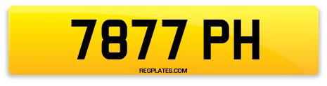 Registration 7877 PH