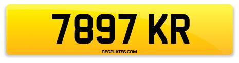 Registration 7897 KR