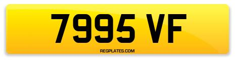 Registration 7995 VF