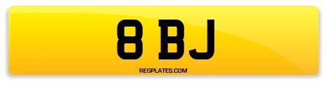 Registration 8 BJ