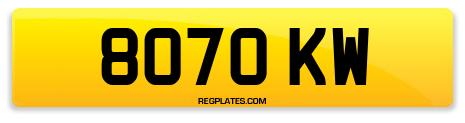 Registration 8070 KW