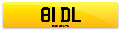 Registration 81 DL