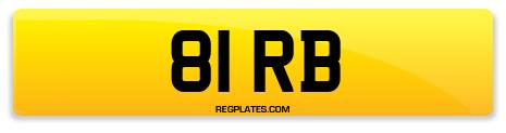 Registration 81 RB