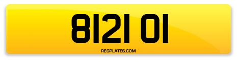 Registration 8121 OI