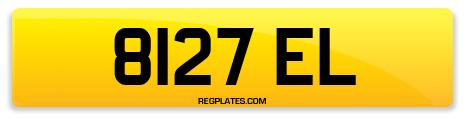 Registration 8127 EL