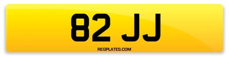 Registration 82 JJ