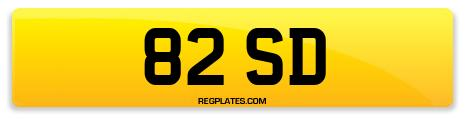 Registration 82 SD