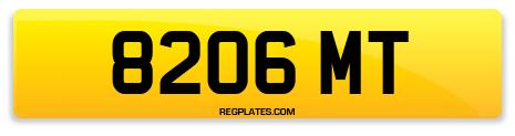 Registration 8206 MT