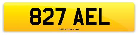 Registration 827 AEL