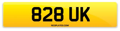 Registration 828 UK