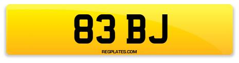 Registration 83 BJ