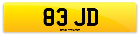 Registration 83 JD
