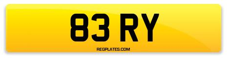 Registration 83 RY