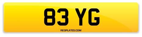 Registration 83 YG