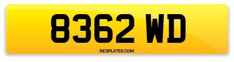 Registration 8362 WD