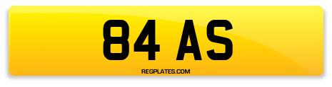 Registration 84 AS