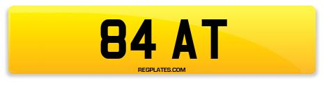 Registration 84 AT