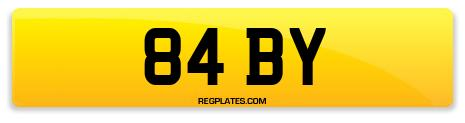 Registration 84 BY