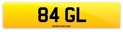 Registration 84 GL