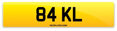 Registration 84 KL