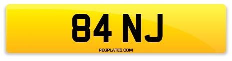 Registration 84 NJ