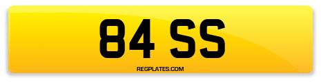 Registration 84 SS