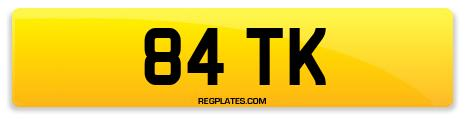 Registration 84 TK